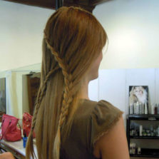 Luigi coiffeur parrucchiere a lucca professionista nel mondo dell'hair stylist.